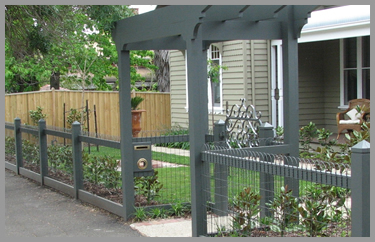 Heritage or Emu Wire Fencing